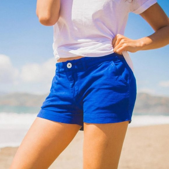 Chubbies Pants - Chubbies The Queen of the Castles Royal Blue Short